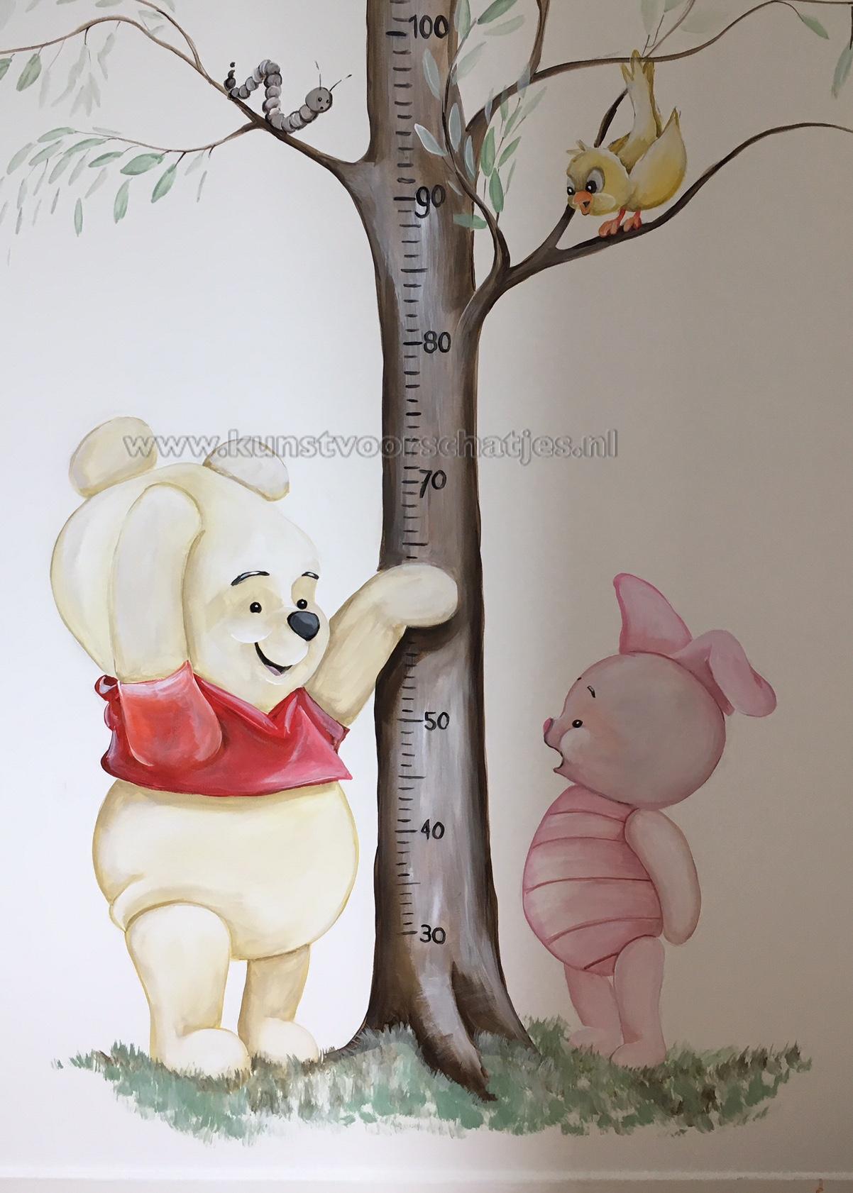 Baby Winnie groeimeter