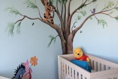 Winnie boom in hoek