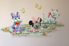 Baby disney Minnie en Katrien