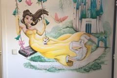 Disney Prinsessen Belle en kasteel