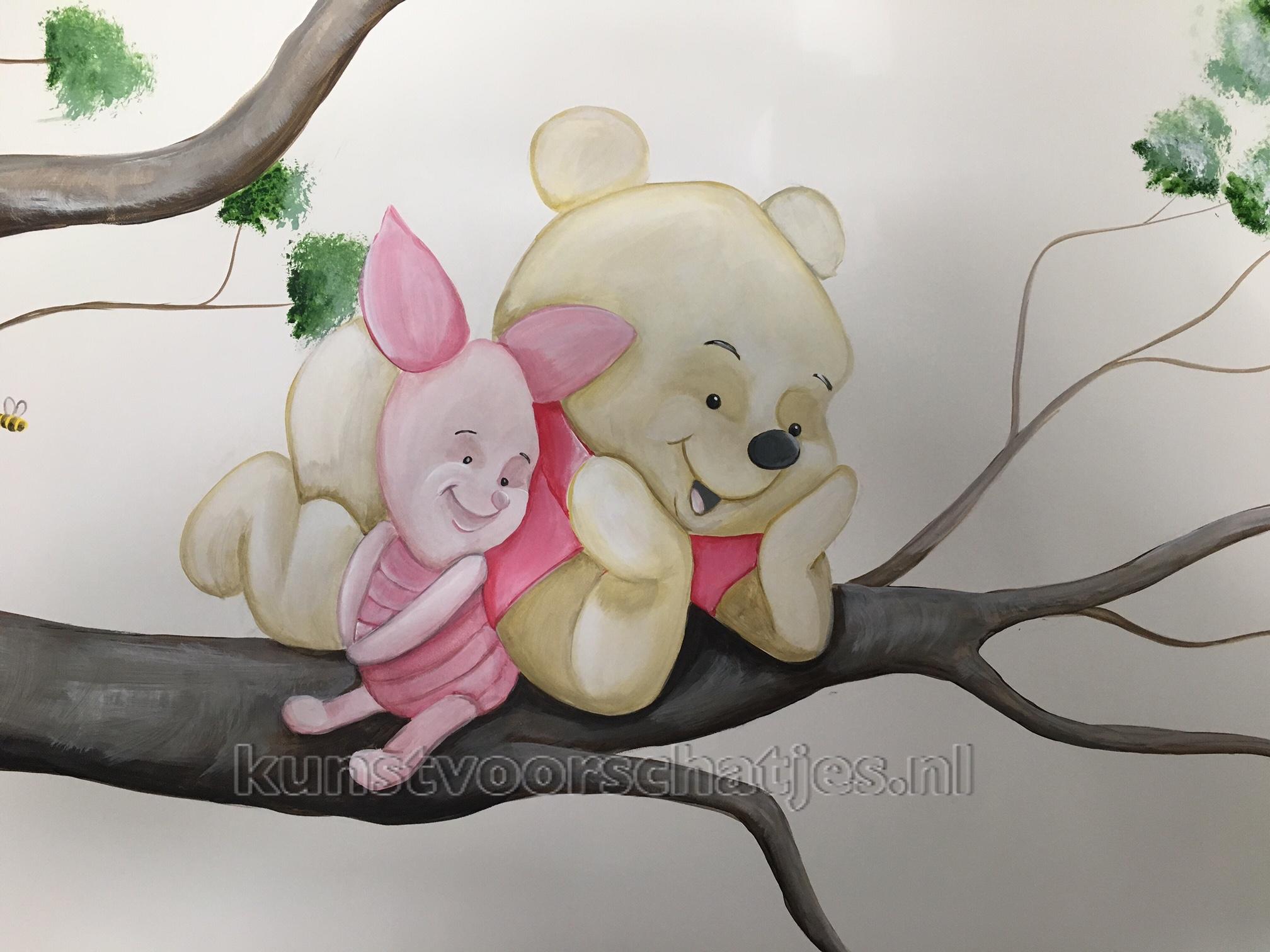 Baby Winnieboom en Knorretje