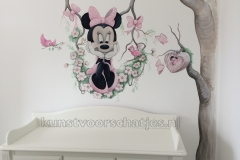 Minnie Mouse halve boom Den Haag