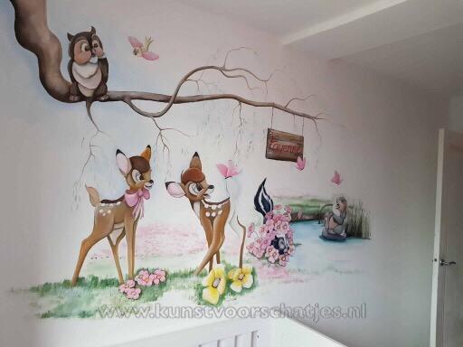 Bambi muur