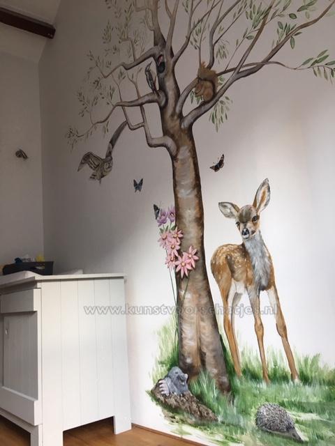 Boom-met-bosdieren-Delft