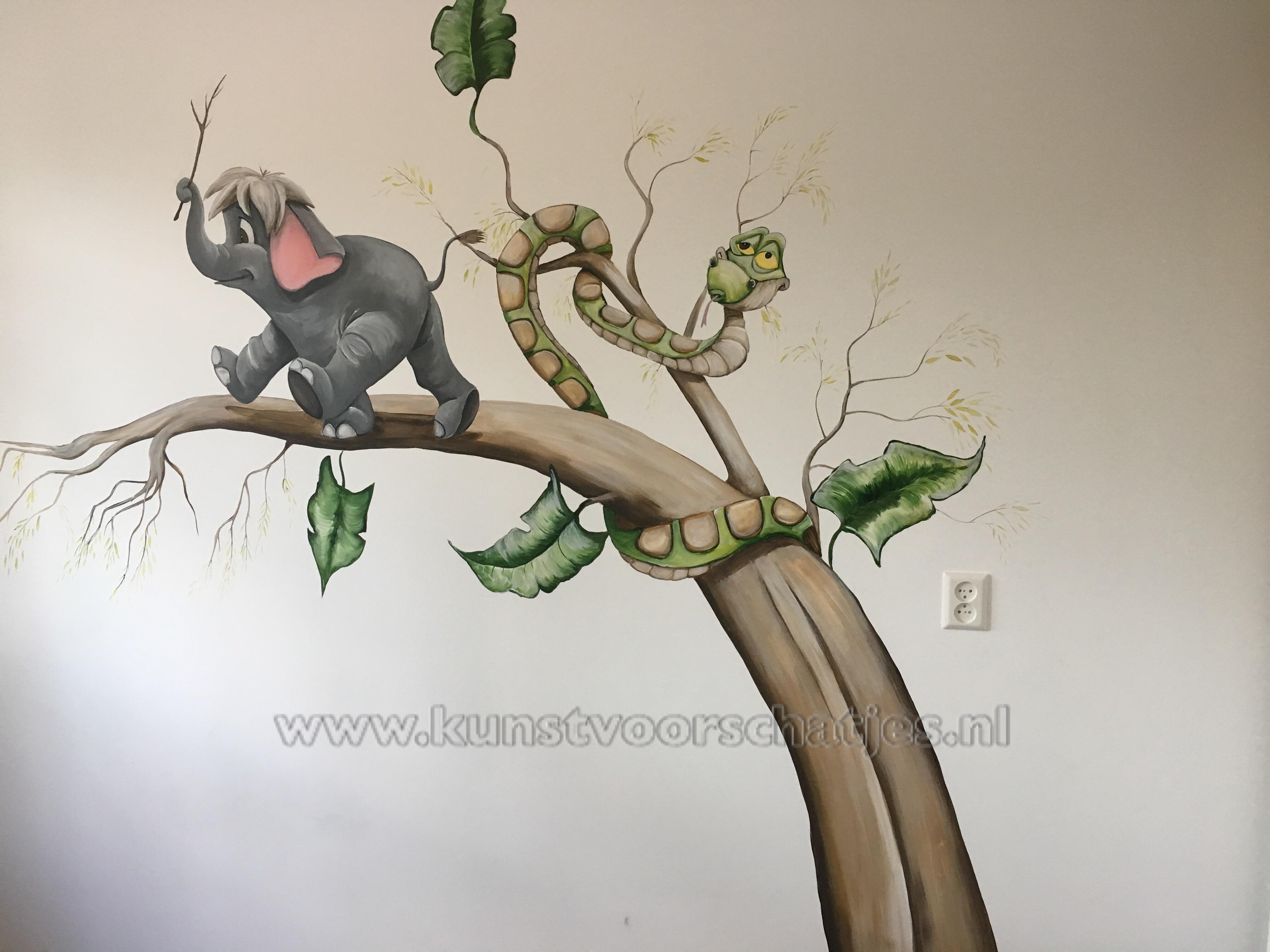 Disney jungle boom olifant en kaa (2)