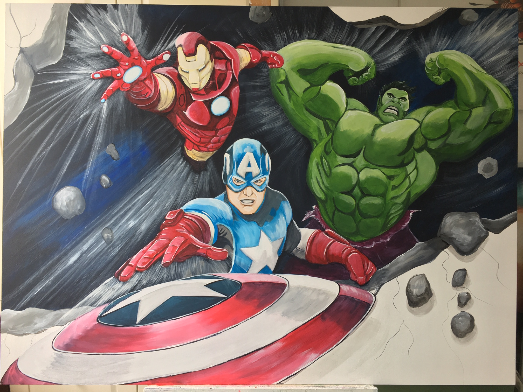 Avengers paneel