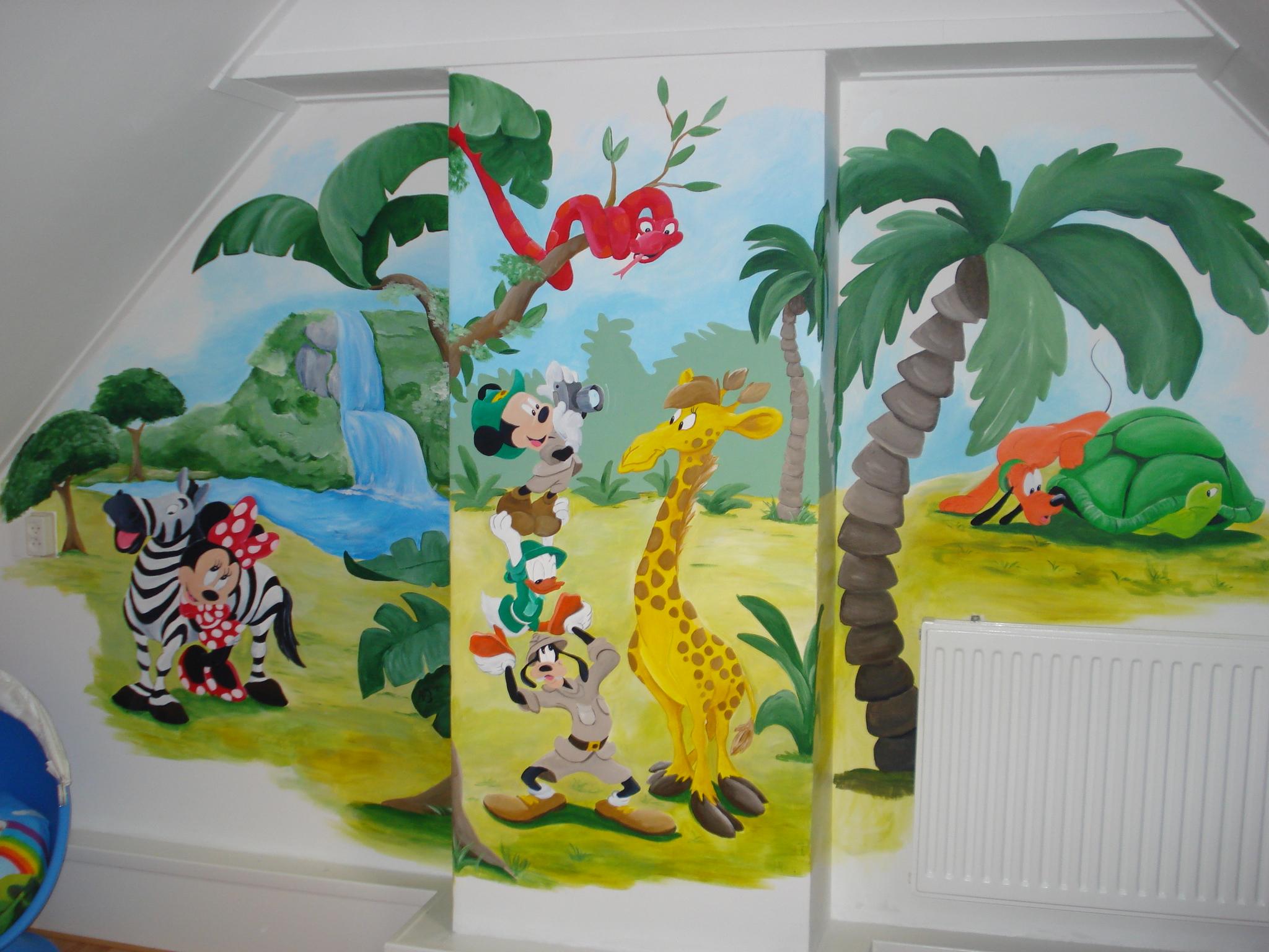 Mickey Mouse safari Alblasserdam