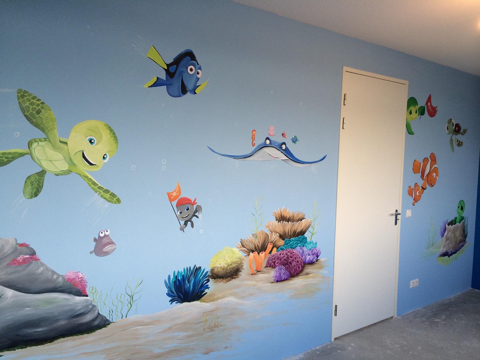 Nemo en Sammy schildpad