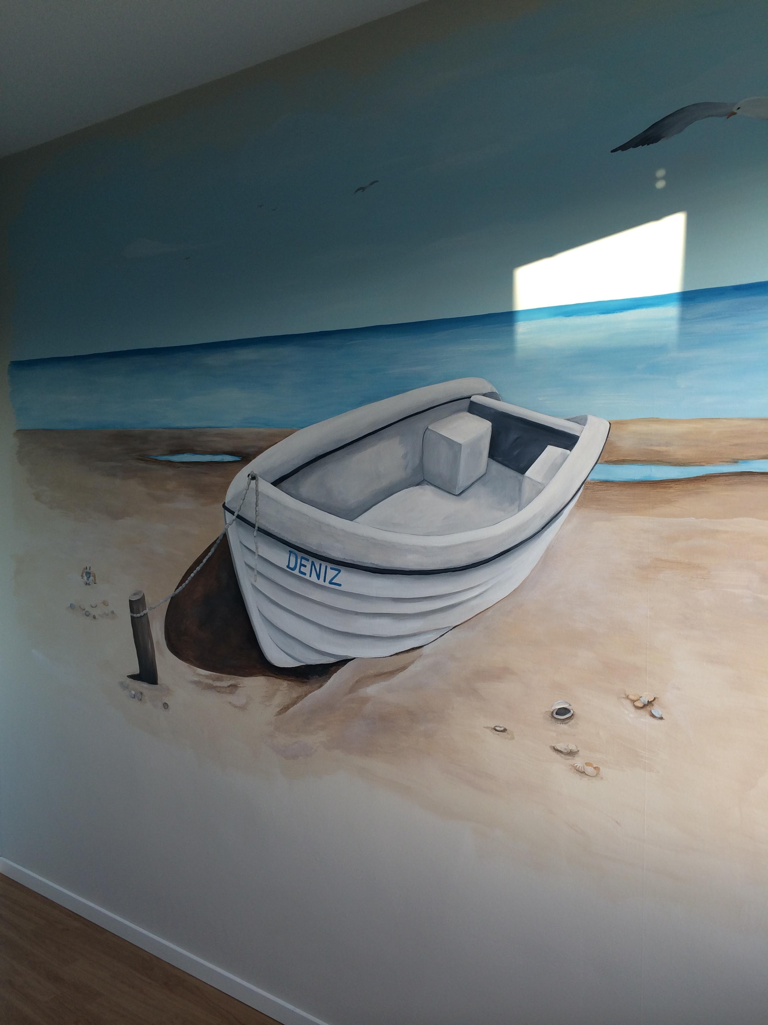 Strand bootje