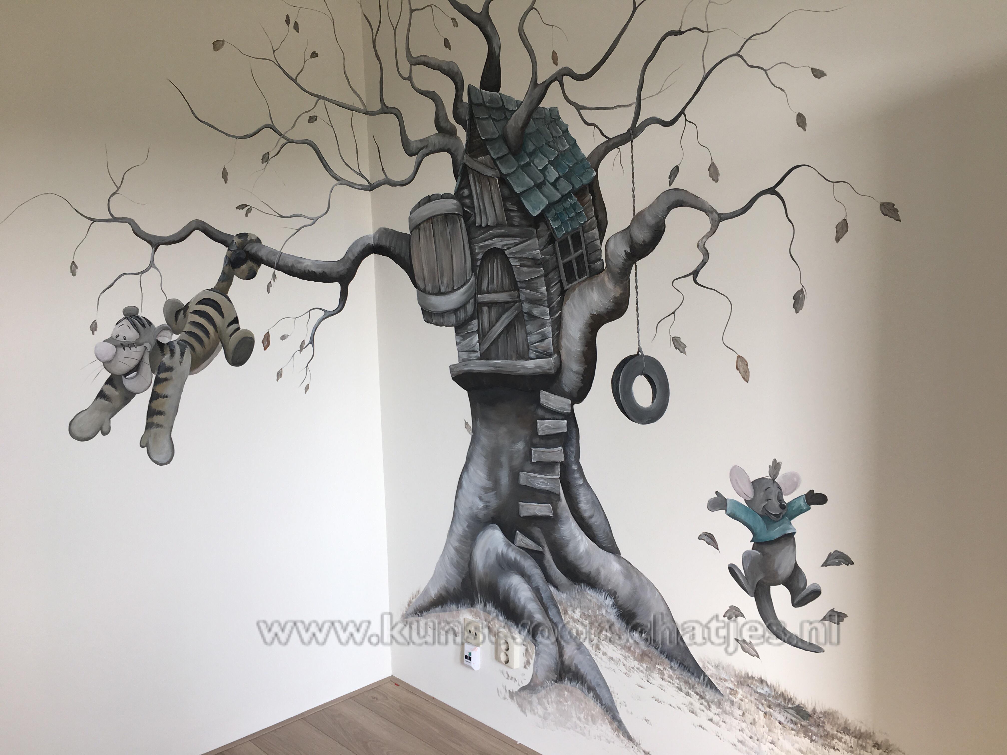 Teigetje boomhut geheel
