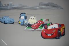 Cars grijze muur Jesse (2)