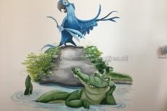 Disney Rio en krokodil