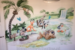 Disney jungle Mickey and friends