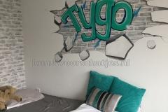 Graffiti Tygo geheel