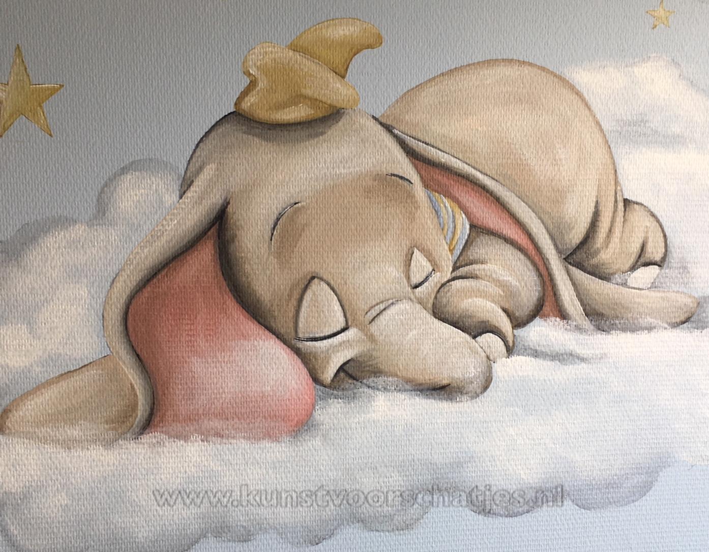 Dombo op wolk