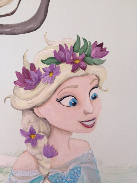 Boom Frozen Elsa closeup