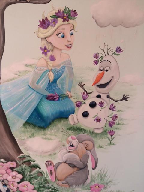 Boom Frozen Elsa en Olaf