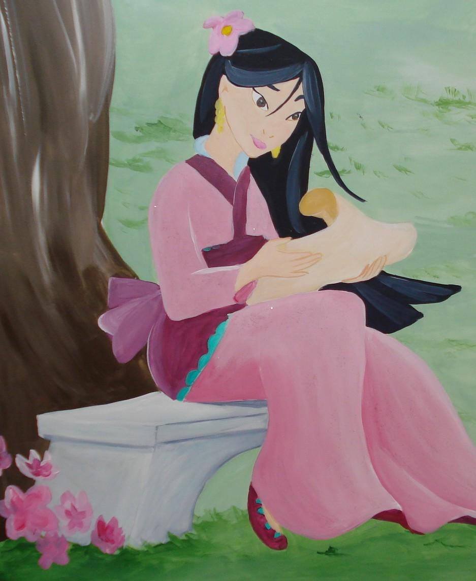 Prinsessenkast Mulan