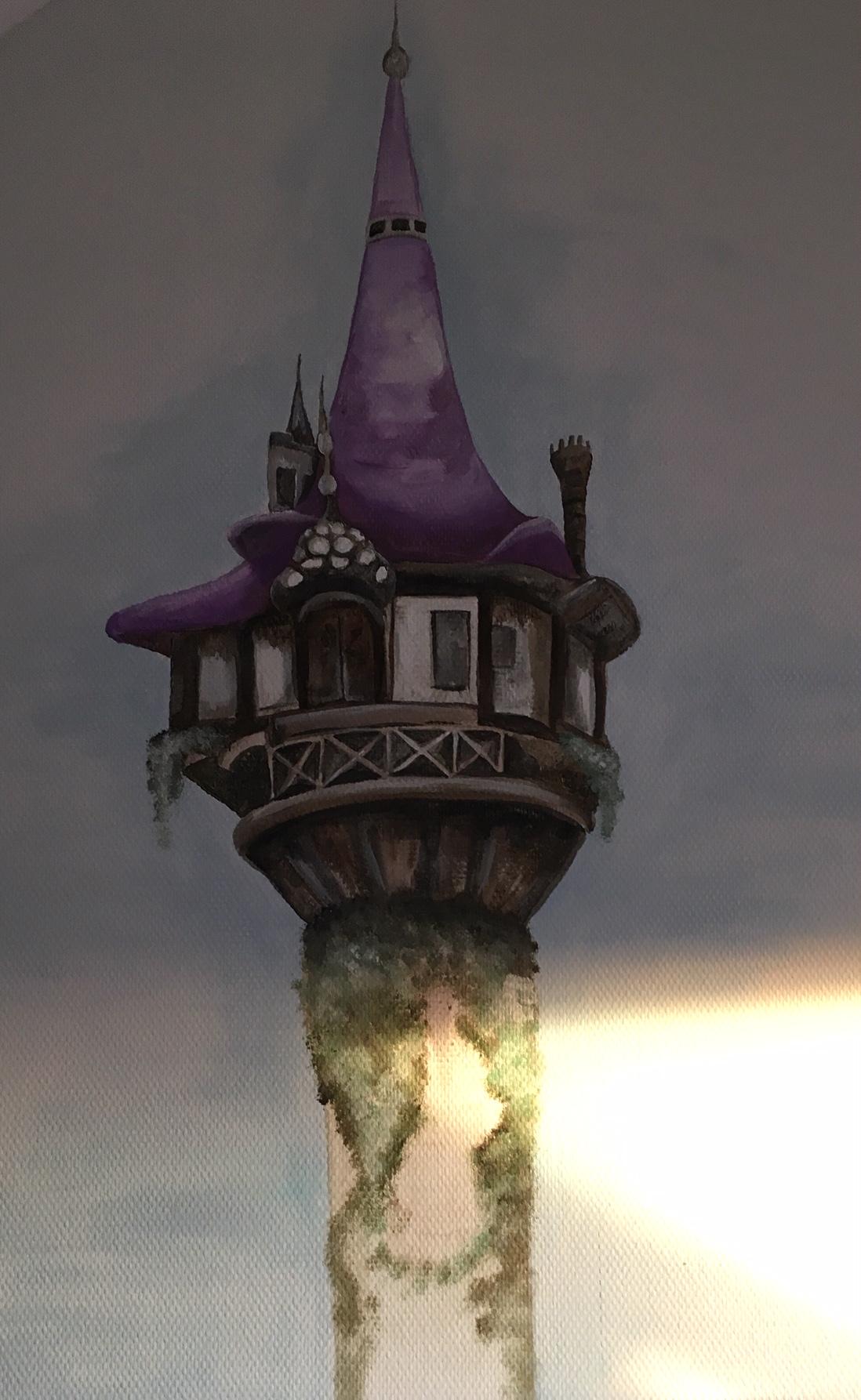 Rapunzel kasteel