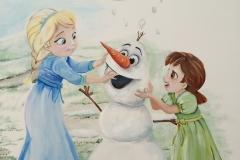 Disney babies prinsessen Elsa en Anna