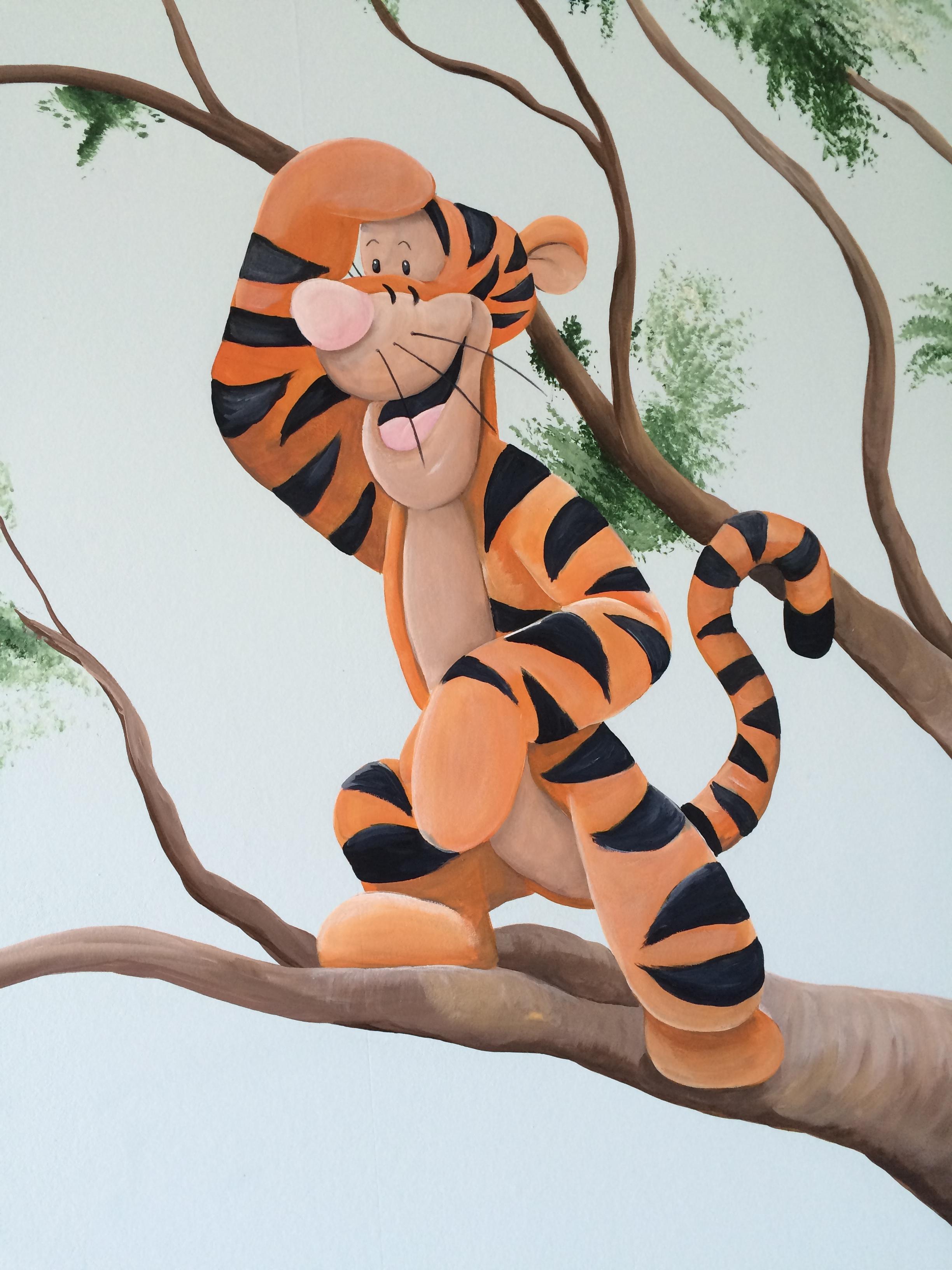 Winnie boom Teigetje uitkijk
