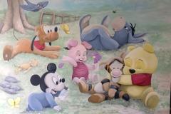 Disney babies paneel